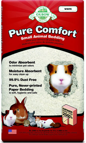 Oxbow Pure Comfort White Bedding For Small Animals