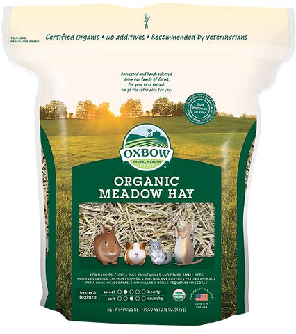 Oxbow Organic Meadow Hay For Small Animals