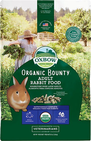 Organic Bounty Adult Rabbit Food - 3 lb Bag
