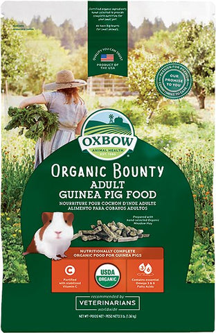 Organic Bounty Adult Guinea Pig Food - 3 lb Bag