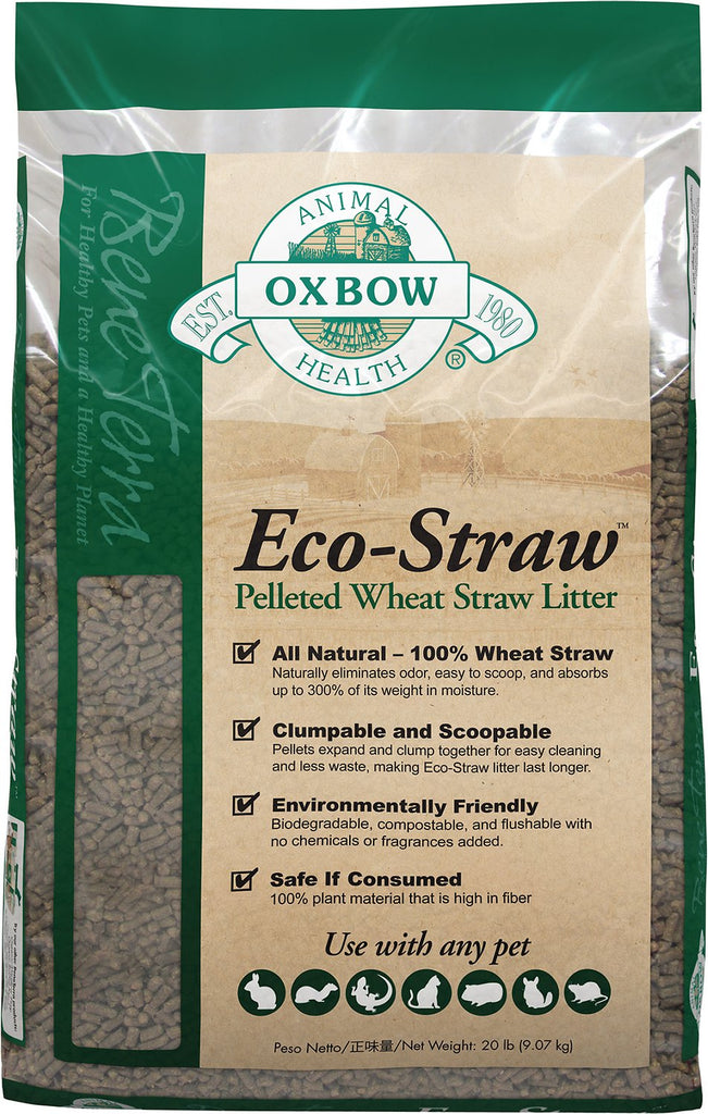 Bene Terra Eco-Straw Litter For Small Animals