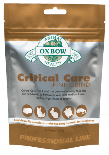 Oxbow Critical Care Fine Grind For Small Animals - 100g Bag