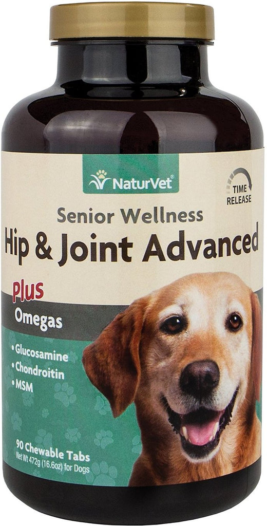NaturVet Senior Care - Senior Hip & Joint Tabs TIME RELEASE