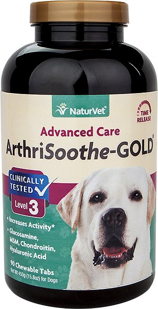 NaturVet Joint Health ArthriSoothe-GOLD Tablets - Time Release