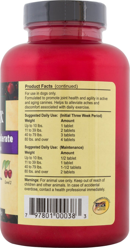 Overby Farms Hip Flex Level 2 (Moderate) Chewable Tablets
