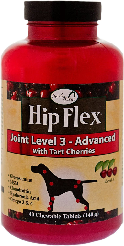 Overby Farms Hip Flex Level 3 (Advanced) Chewable Tablets