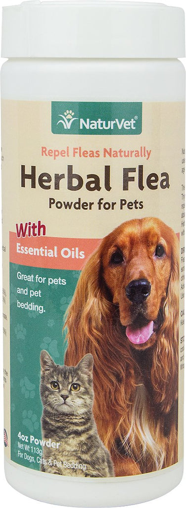 NaturVet Flea Issues Herbal Flea Pet Powder - 4oz