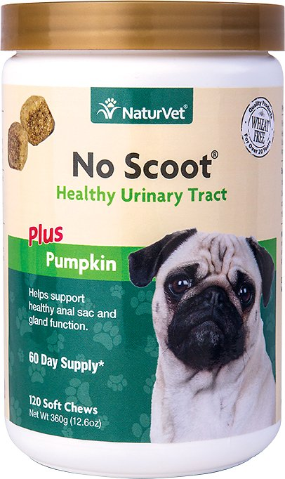 NaturVet Remedies - No Scoot Soft Chew - 120ct