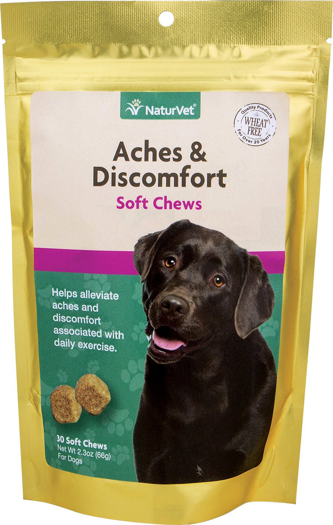 NaturVet Joint Health - Aches & Discomfort Soft Chew 30ct
