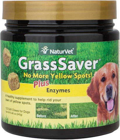 NaturVet Yard Care - GrassSaver Soft Chew - 120 ct