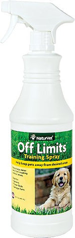 NaturVet Training Aids - OFF Limits- Ready To Use Spray  - 32 oz Bottle