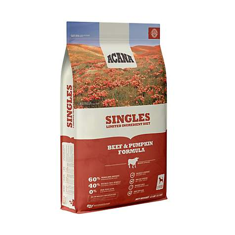 Acana Singles Beef & Pumpkin Dog Food