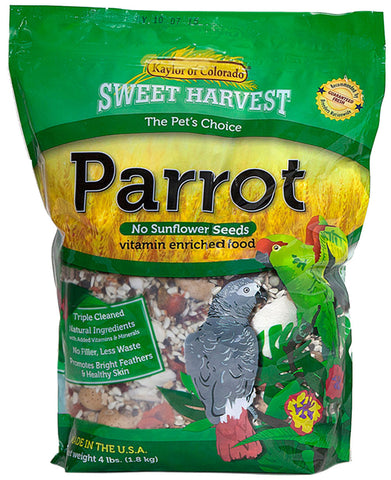 Kaylor of Colorado Sweet Harvest Parrot Seed - Without Sunflower Seeds