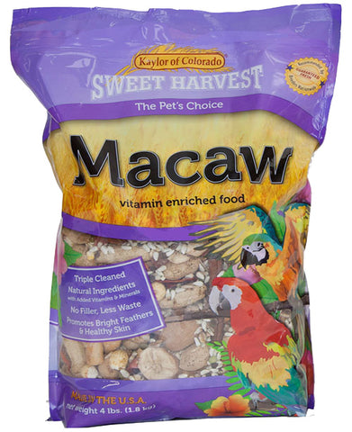 Kaylor of Colorado Sweet Harvest Macaw Seed - 4 lb Bag
