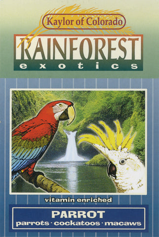 RF0703 Kaylor of Colorado Rainforest Exotics Parrot Seed