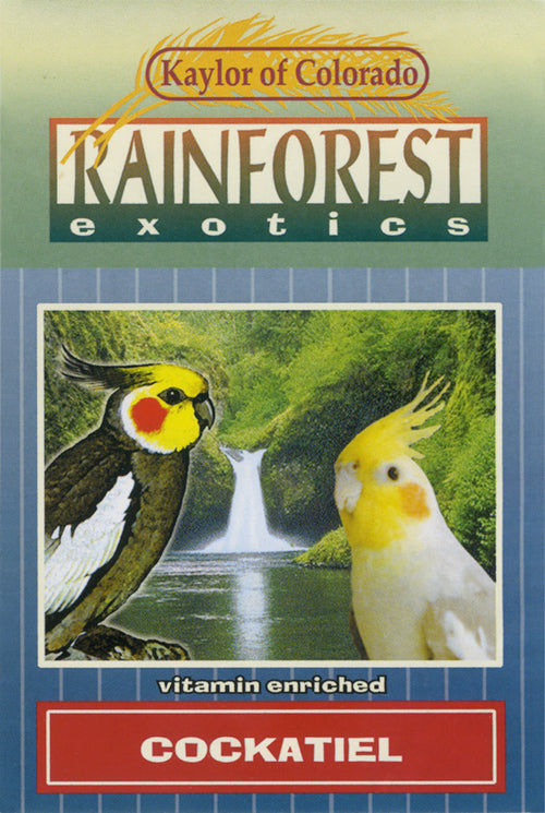 Kaylor of Colorado Rainforest Exotics Cockatiel Seed