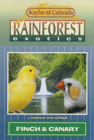 Kaylor of Colorado Rainforest Exotics Canary & Finch Seed