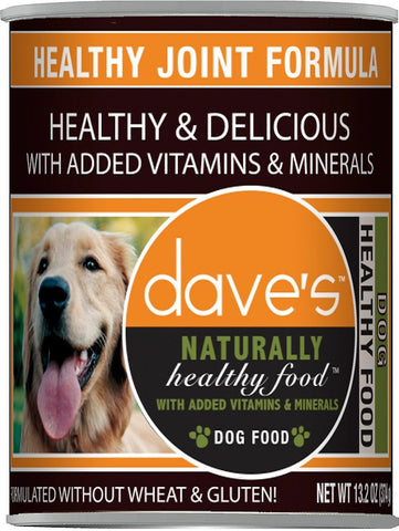 Daves Pet Food Naturally Healthy, Healthy Joint Formula 12/13oz