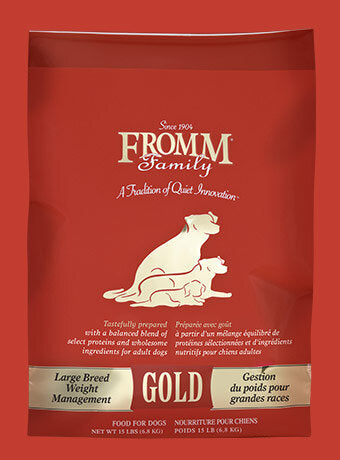 Fromm Family Large Breed Weight Management Gold Dog Food