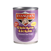 Evanger's Classics Line Chicken Lickin' Grain-Free Canned Cat Food 12 pk/12.8 oz cans