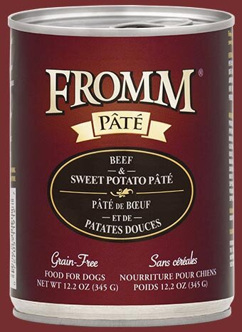 Fromm Family Beef & Sweet Potato Pâté Canned Dog Food - 12/12.2 oz Cans