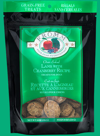 Fromm Family Lamb with Cranberry Dog Treats - 8 oz Bag