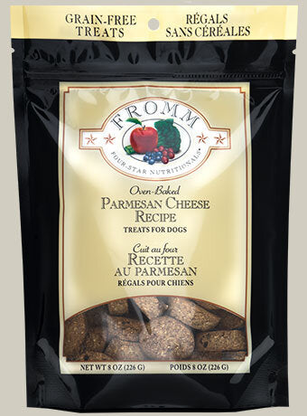 Fromm Family Parmesan Cheese Dog Treats - 8 oz Bag