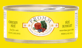 Fromm Family Chicken Pâté Canned Cat Food - 24/5.5 oz Cans