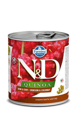 Farmina N&D Quinoa Functional Canine Skin & Coat - Venison Recipe
