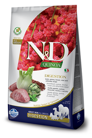 Farmina N&D Quinoa Functional Canine Digestive Support Kibble - Lamb Recipe