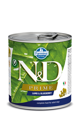 Farmina N&D Prime Canine Lamb & Blueberry Adult Wet Food