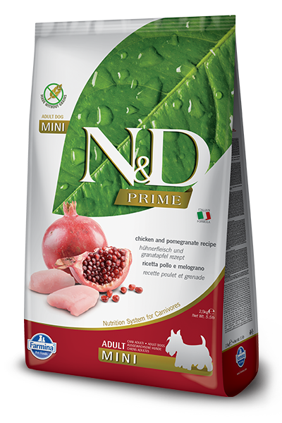 Farmina N&D Prime Canine Chicken & Pomegranate Adult Kibble - Small Breed