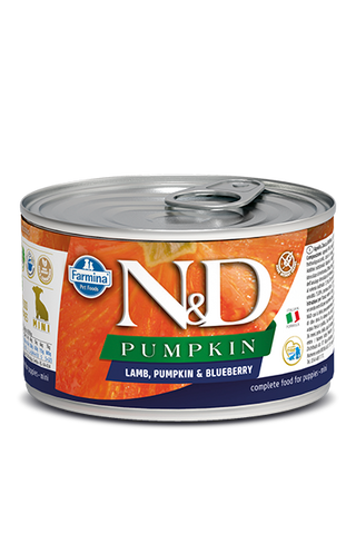 Farmina N&D Pumpkin GF Canine Puppy Wet Food - Lamb, Pumpkin & Blueberry Recipe