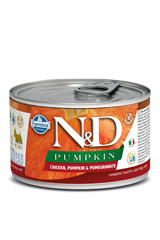 Farmina N&D Pumpkin GF Canine Adult Wet Food - Chicken, Pumpkin & Pomegranate Recipe