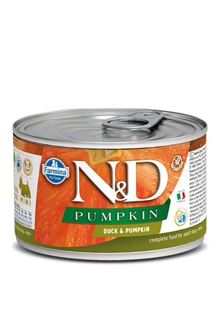 Farmina N&D Pumpkin GF Canine Adult Wet Food - Duck & Pumpkin Recipe