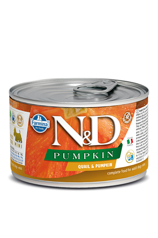 Farmina N&D Pumpkin GF Canine Adult Wet Food - Quail & Pumpkin Recipe
