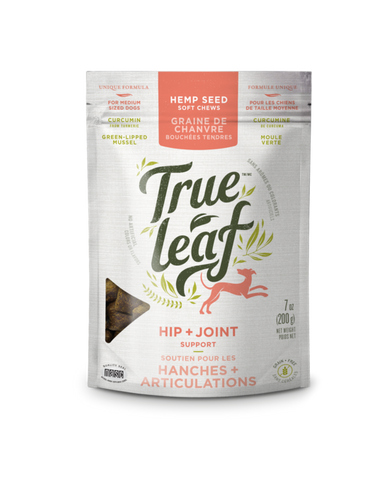 True Leaf Hip & Joint Support Chews For Dogs