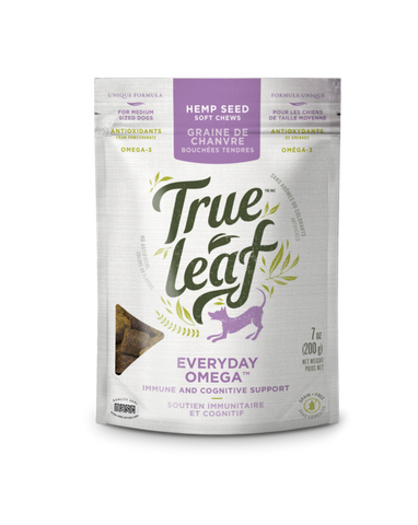 True Leaf Omega Support Chews For Dogs