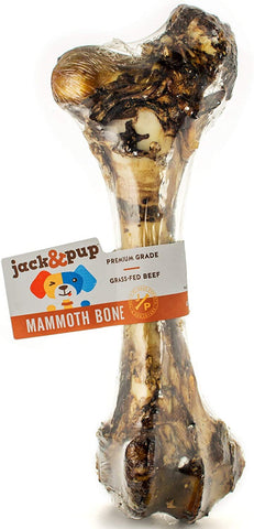 Jack & Pup Mammoth Bone Treat For Dogs