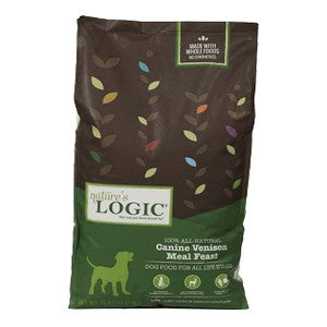 Nature's Logic Canine Venison Meal Feast Dry Dog Food