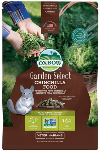 Oxbow Garden Select Chinchilla Food