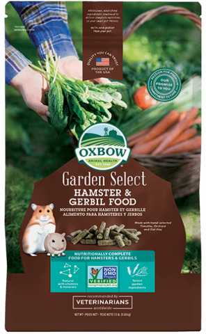 Oxbow Garden Select Hamster/Gerbil Food 1.5 lb