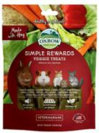 Oxbow Simple Rewards Veggie Treat For Small Animals - 3 oz Bag