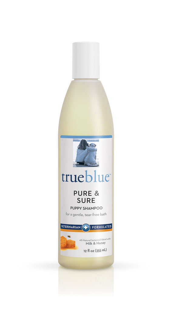 True Blue Puppy Shampoo - 12 oz Bottle Milk & Honey