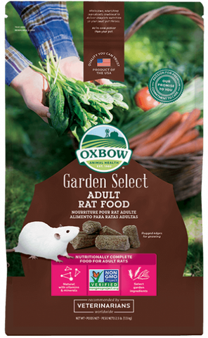 Oxbow Garden Select Adult Rat Food 2.5 lbs