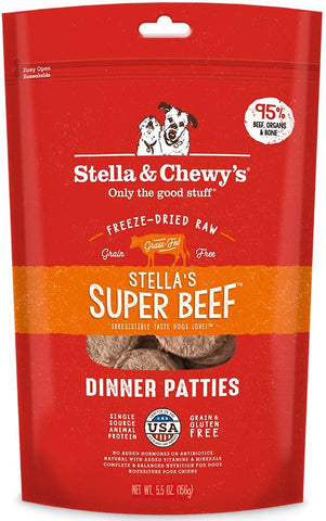 Stella & Chewy's Stella's Super Beef Dinner Patties