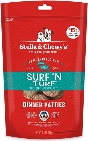 Stella & Chewy's Surf 'N Turf Dinner Patties