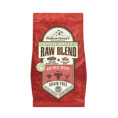 Stella and Chewy Raw Blend Small Breed Red Meat Kibble