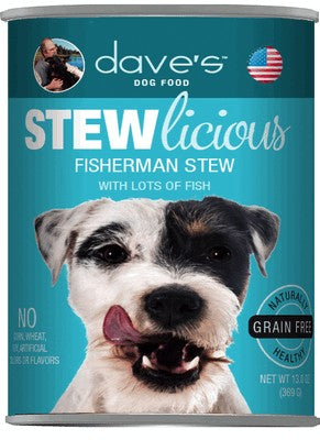 Daves Pet Food Stewlicious Fisherman Stew 12/13oz