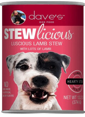 Daves Pet Food Stewlicious Luscious Lamb Stew 12/13oz